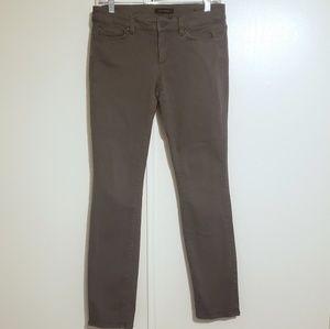 Ann Taylor Modern Fit Olive Skinny Jean